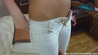 DOUBLEVIEWCASTING.COM - ANGELIC DREAMS TO BE BANGED IN ASS (POV VIEW)