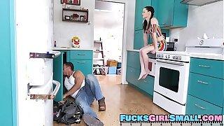 Pigtailed Sex Pixie - Jenna J. Ross - FULL SCENE on http://FucksGirlSmall.com