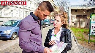 Hot Czech Teen tricks Stud into taking her home (Silvia Dellai & Angelo Godshack)