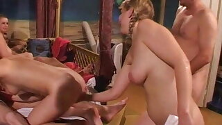 Swingers party with hot and funny babes