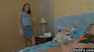 Feeble-minded Teen Around Prankish Life-span Anal Coupled with Facial